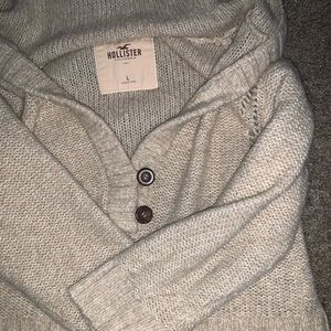 Hollister Off The Shoulder Knitted Sweater